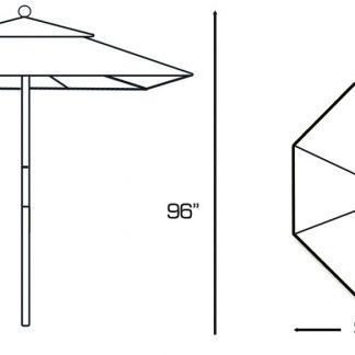 Galtech 132 Patio Umbrella