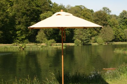 Bambrella Levante Square Bamboo Umbrella