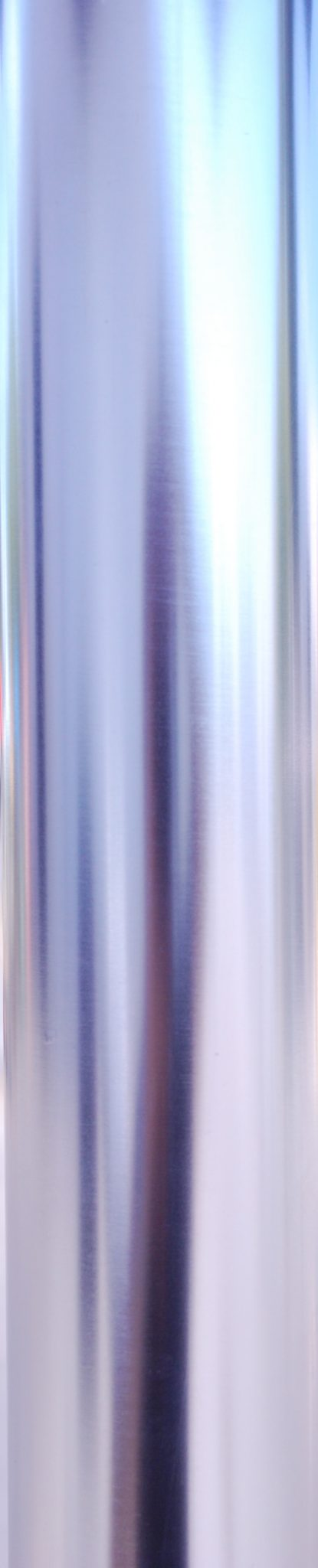 Galtech Silver Finish Pole