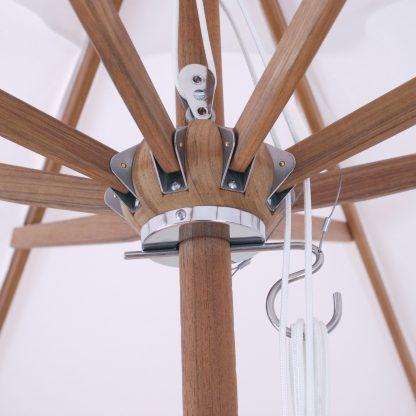 Hub for Galtech 532 9′ Deluxe Round Teak Wood Umbrella
