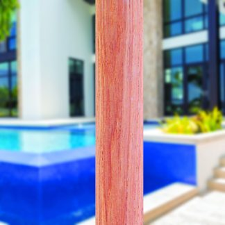532tk pole for Galtech 532 9′ Deluxe Round Teak Wood Umbrella