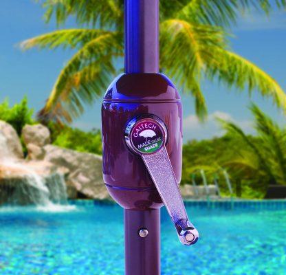 Galtech 636 9′ Round Umbrella crank