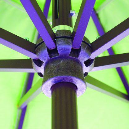 Galtech 727 7.5' Deluxe Auto Tilt Round Umbrella hub