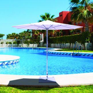 Galtech 732 9′ Round Deluxe Commercial Market Umbrella