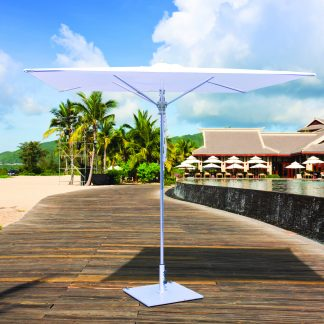 Galtech 782 8′ Square Deluxe Commercial Market Umbrella