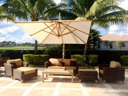 Bambrella Levante Sidewind Patio Umbrella