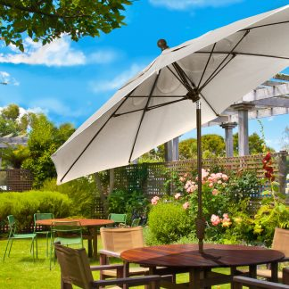 Fiberbuilt 7.5' tilt patio umbrella
