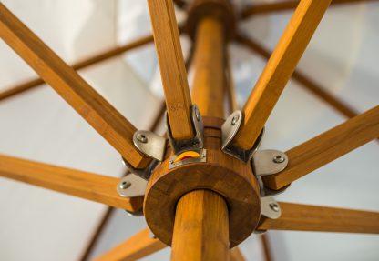 Bambrella Levante Round Bamboo Umbrella